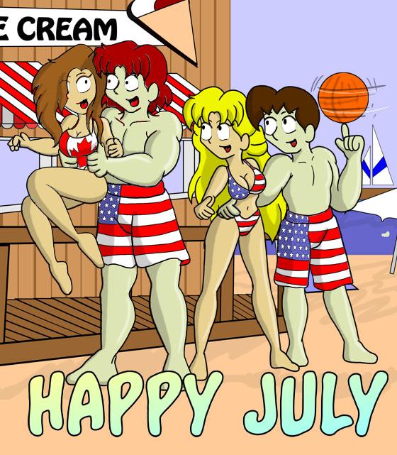 Filler : Happy July!