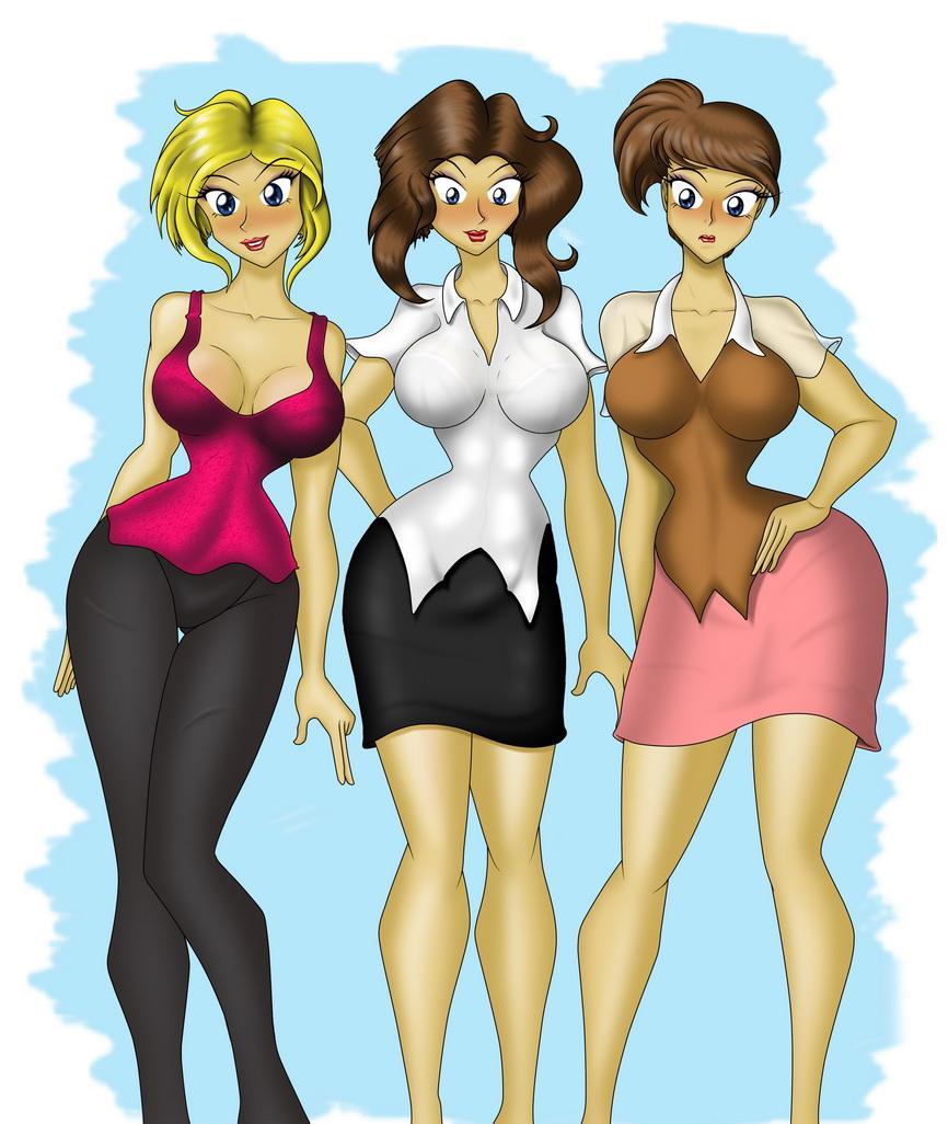 "Fanart Filler: The Three ""Bays"""
