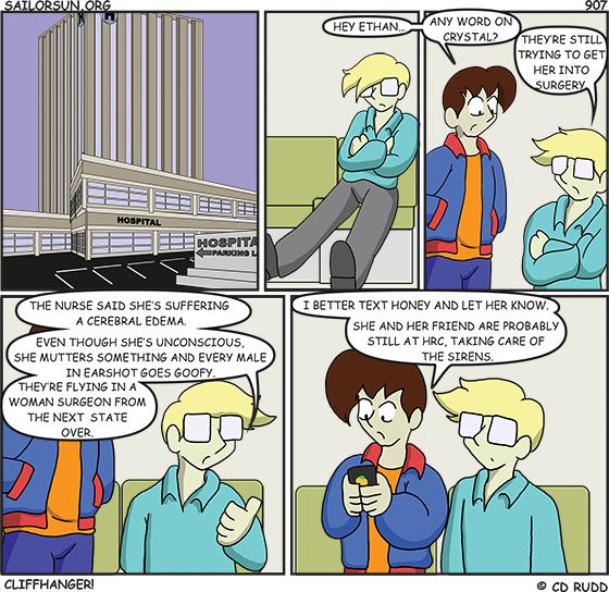 907 : Cliffhanger!