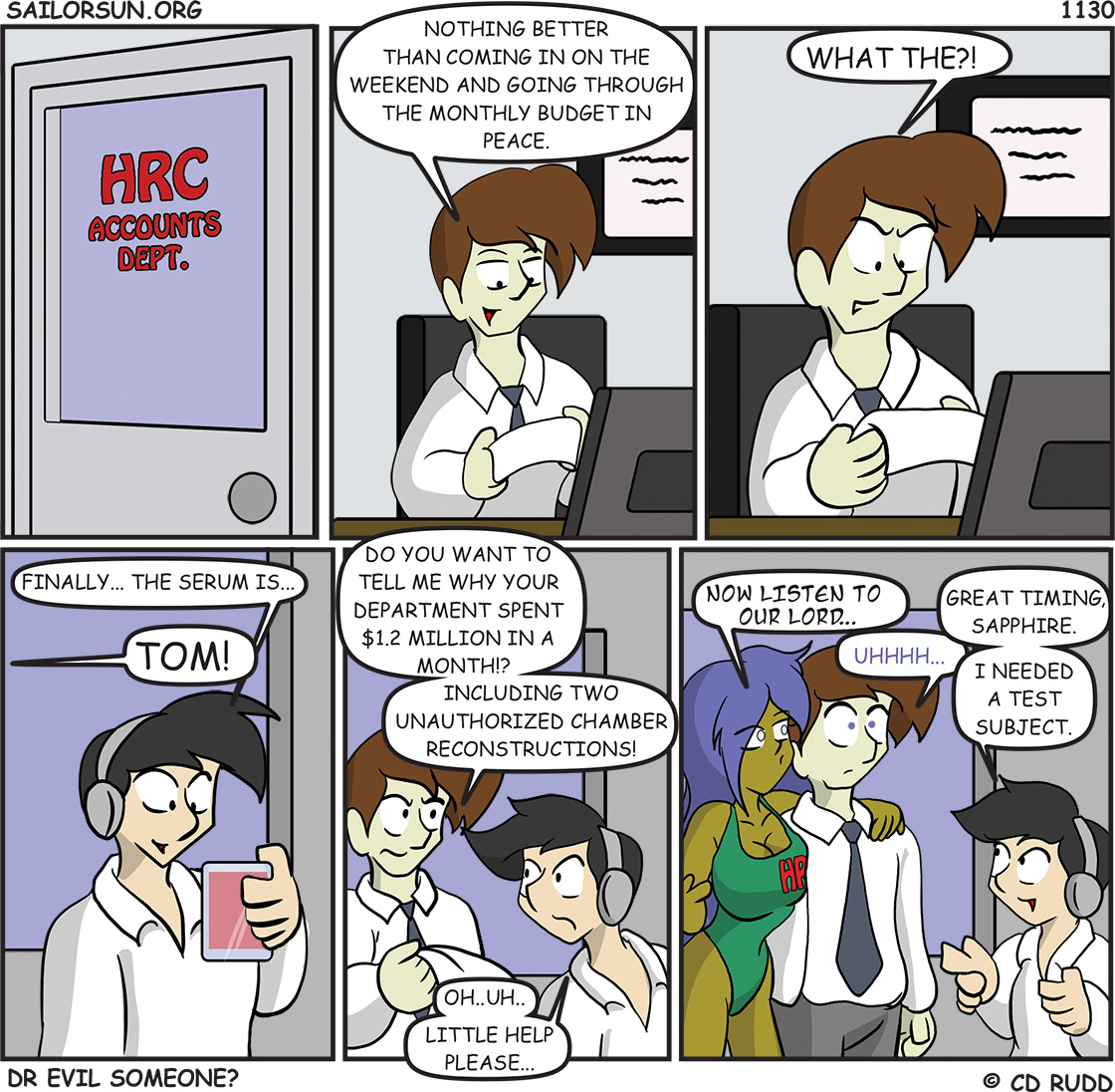 1130 : Dr. Evil Someone?